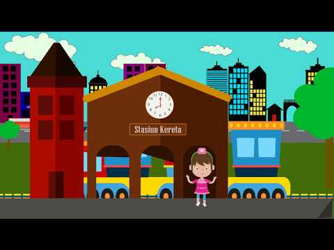 Naik Kereta Api || Indonesian Kids Song || Lagu Anak Indonesia Youtube
