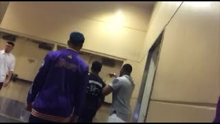 ZIAS AND B. LOU CATCHES CHRIS AND FIGHTS HIM!!!! WATCH LIVE