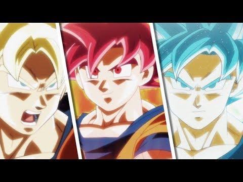 Explaining Super Saiyan God Forms in Dragon Ball Super