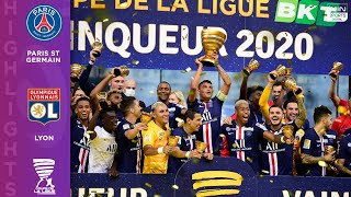 Paris St Germain (6) - (5) Olympique Lyonnais - Coupe de La Ligue - FINAL