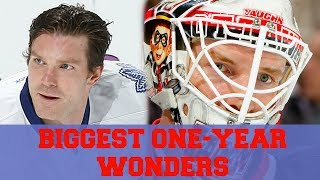 5 BIGGEST One Year Wonders in NHL History