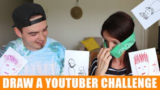 DRAW A YOUTUBER CHALLENGE Z MAMA!