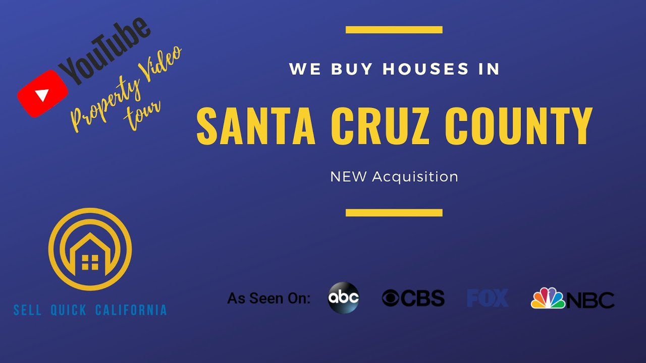 We Buy Houses In Santa Cruz County California [Real Estate Investor Property Walk Through]