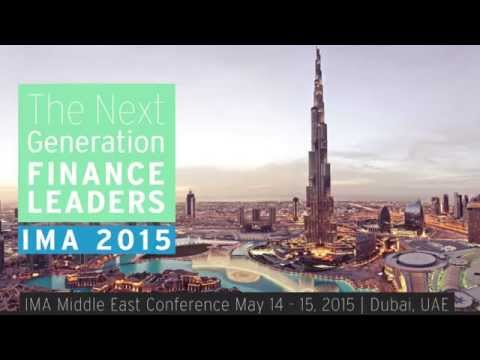 The 3rd IMA Middle East Conference 2015 – Dubai, UAE