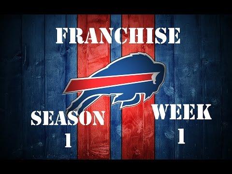 Madden 16: Buffalo Bills Franchise Week 1 VS Indianapolis Colts Season 1 (#1)