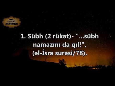 Quranda Namaz 5 vaxtdır. (Dəlillərlə)