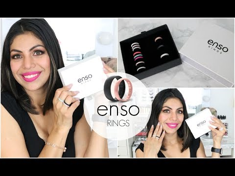 Enso Rings Review Slim And Stylish Silicone Rings  | FABIOLAG