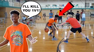 This Kid CALLED ME OUT! INTENSE 1v1 Basketball!