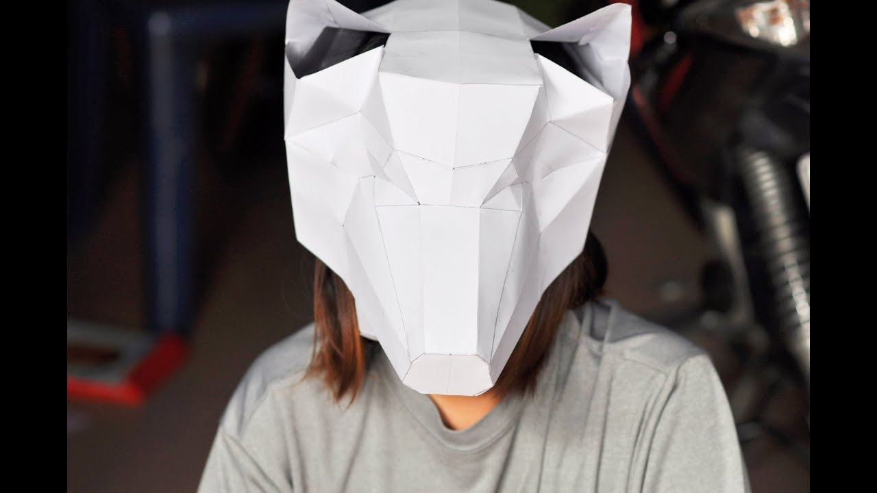 Faster Wolf Mask Tutorial | Cosplay Amino | 720x1280
