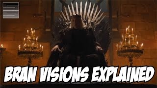 Game of Thrones Season 6 Episode 6 Bran Vision Explained