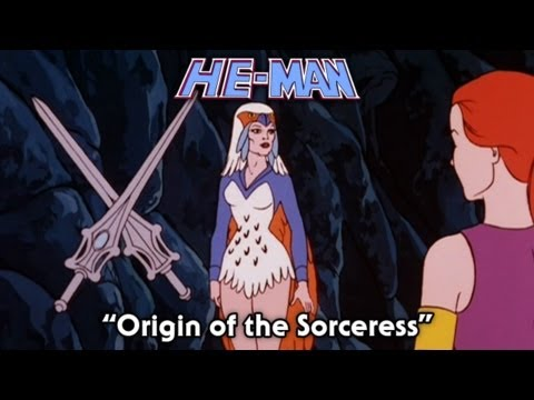 He Man  Origin of the Sorceress  FULL episode