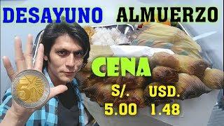 Desayuno, almuerzo y cena con S/. 5.00 (USD. 1.48) | ROCKMA
