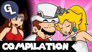 The HOTTEST Mario & Peach Comic Dubs - GabaLeth