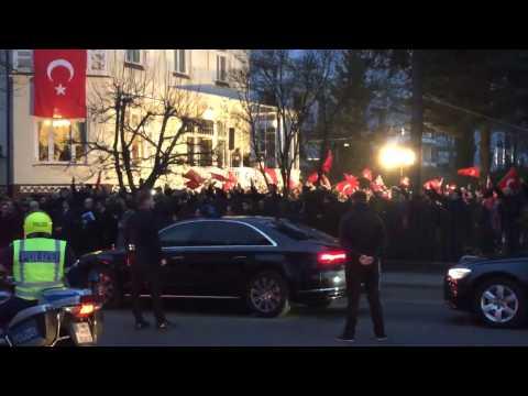 Berlin: Sigmar Gabriel trifft türkischen Außenminister Mevlüt Çavuşoğlu