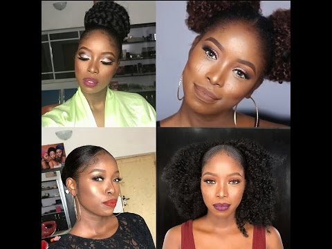 Six Ways To Style Your Natural Hair Youtube