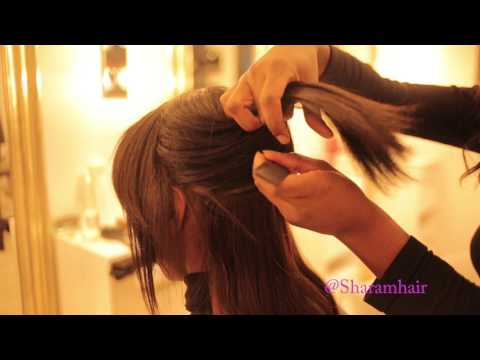 How to apply clip in SHARAM HAIR extensions