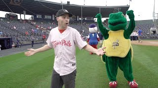DON'T BOUNCE the ceremonial first pitch! VIP ACCESS with the Reading Fightin Phils