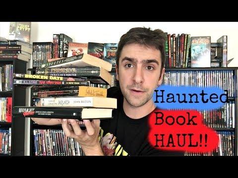 Huge Horror Book Haul! – Big Novel + Story Collection