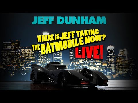 LIVE! Where is Jeff Taking the Batmobile now? | JEFF DUNHAM
