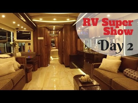 FRVTA Florida RV Supershow 2018 Day 2 - Truma, Newell Coach, Supplier Buildings, & Luxe Fifthwheels
