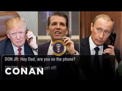 Donald Trump Jr. Interrupts His Father