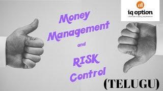 Money Management and Risk Control Strategy | Binary options | IQ option | Telugu