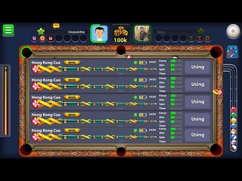 8 Ball Pool Hong Kong Harbour Cue 2x Gameplay Jakarta Volcano