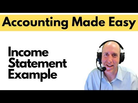 FA5 - Preparing The Income Statement