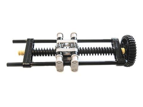 Lego - Worm gear nut #2 - Tommy variant - YouTube