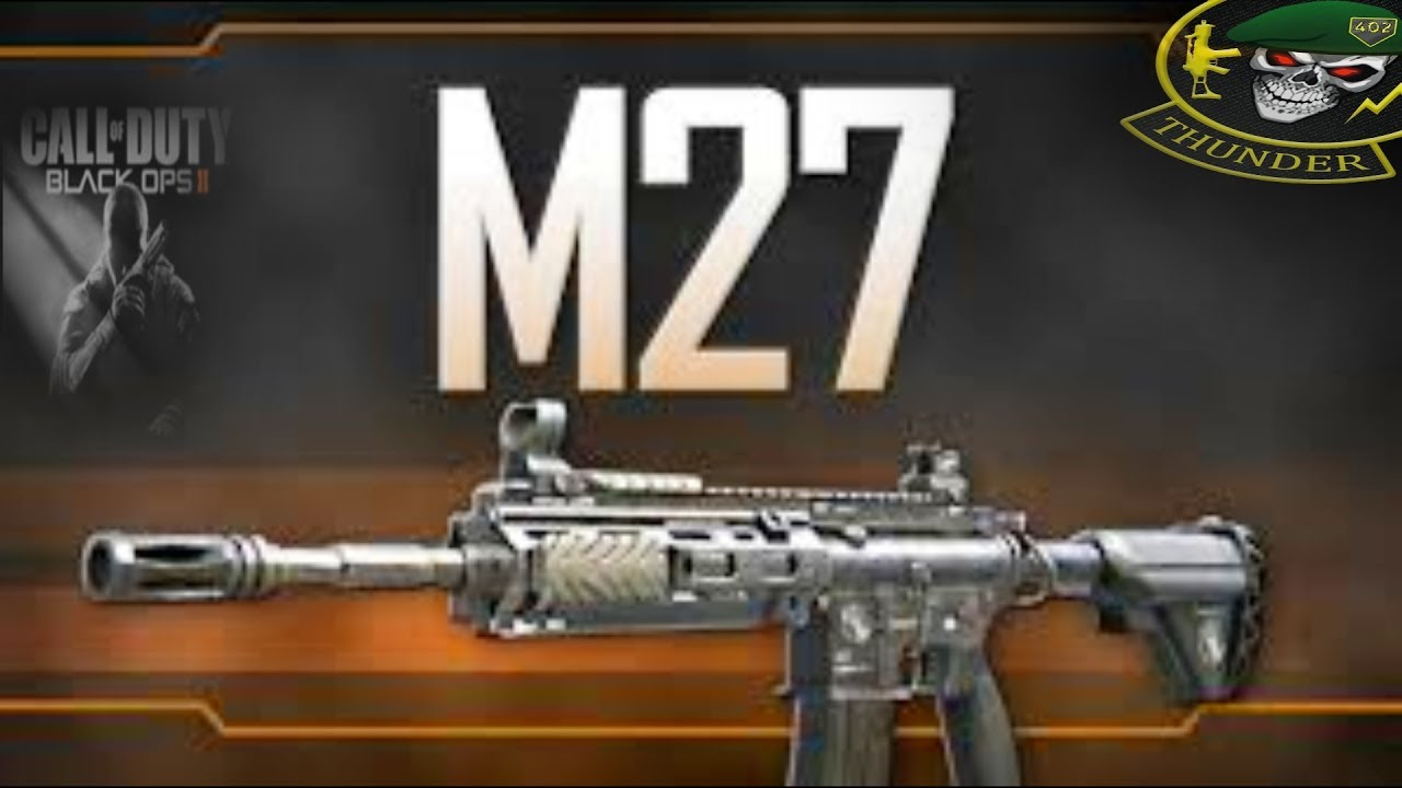 Black Ops 2 Trash Talker Owned With M27 Best Class Setup Best