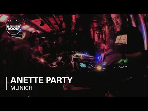 Anette Party DLD x Boiler Room Munich DJ Set