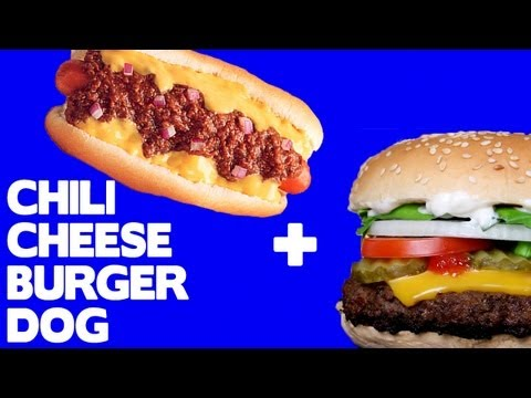 Funtastic Chili Cheese Burger Dog! - Food Mashups