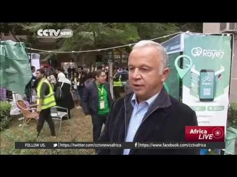14997 economics fair CCTV Afrique Entrepreneurs pitch ideas to potential investors