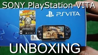 SONY PlayStation VITA Unboxing (PSVITA Borderlands Limited Edition Распаковка)(, 2015-01-24T09:35:33.000Z)