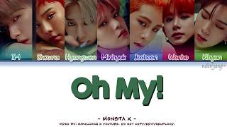 [3.47 MB] MONSTA X (몬스타엑스) – OH MY! (Coded Lyrics Eng/Rom/Han/가사)