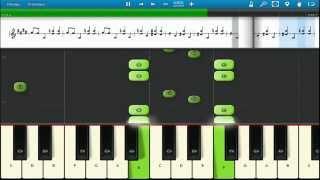 Как играть на пианино ♬ Собачий вальс ♬ Уроки. Обучение.