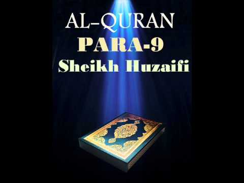 Sheikh Huzaifi-Para 9 (Quran Recitation)