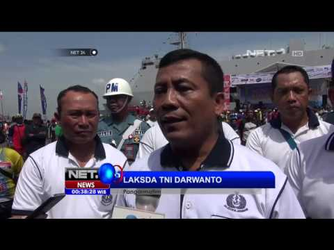 KRI Dewaruci Jadi Primadona di Hari Armada - NET24