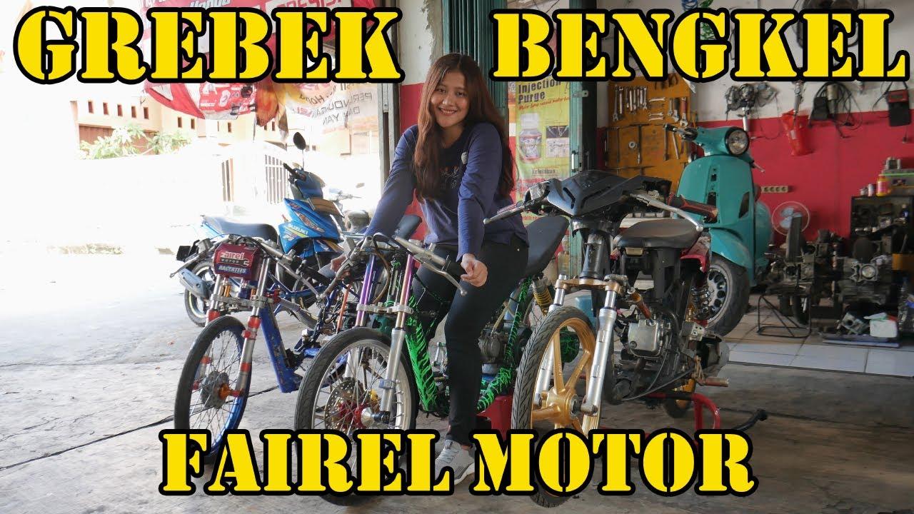 ALA VLOG #104 : GREBEK BENGKEL FAIREL MOTOR !!!