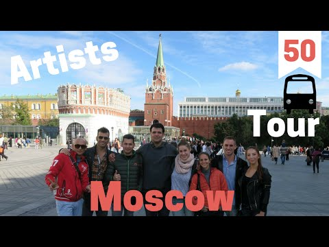 Moscow Tour With ''Idol'' Artists