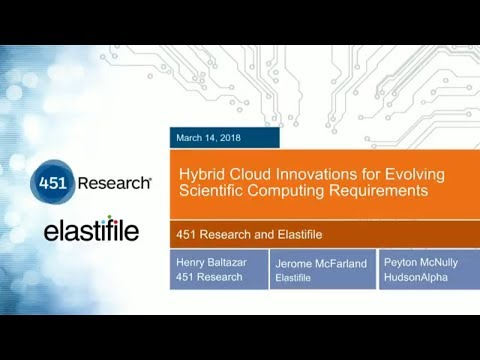 Hybrid Cloud Innovations for Evolving Scientific Computing Requirements