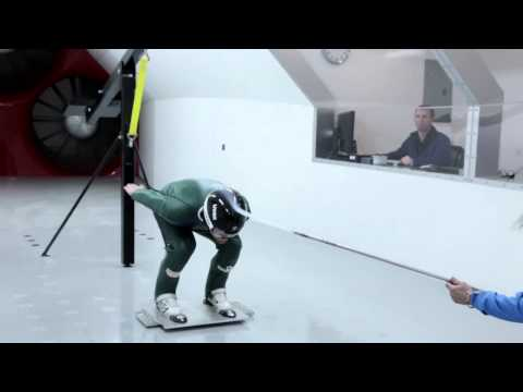 Olympic Ski Jump Training in the Wind Tunnel
