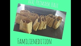 XXXL Primark Haul - August 2015 - Familienedition & Plussize Mama
