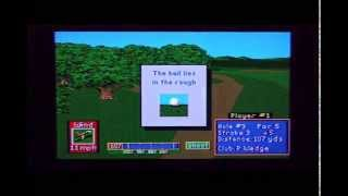 PGA Tour Golf II - Sega Genesis Longplay and Review (Retro Sunday)