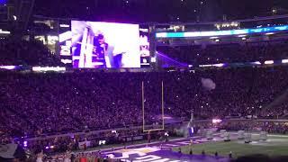 Minnesota Vikings skol chant + intros vs Saints | SNF
