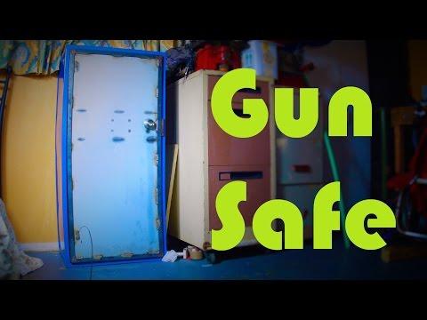 Steel Gun Cabinet Build
