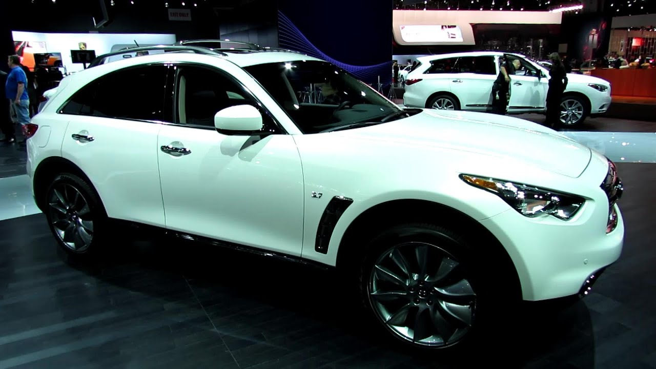 2014 infiniti qx70 3 7 fx37 exterior and interior walkaround 2013 new york auto show youtube