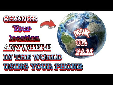 How to spoof your location hack to any place using any device and computer