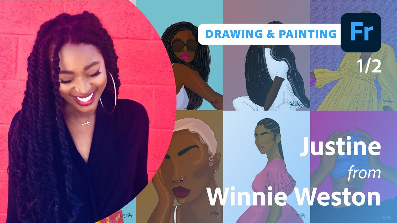Drawing Diverse Characters with Justine from Winnie Weston - 1 of 2