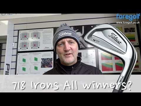 Titleist 718 CB Irons tested Average Golfer